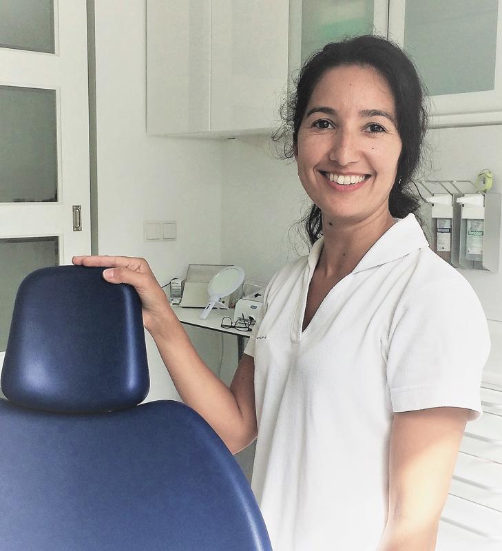 Dorita Ospina, praktijk eigenaar